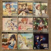 PS3 The Idolmaster Gravure for you G4U Vol.1-9 Set 9 game set Japan