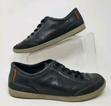 ECCO Men's Navy Blue Grey Lace Up Sneakers0 Sz 41 EUR  8 US