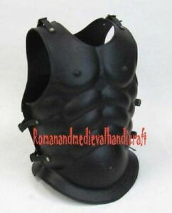 BREASTPLATE LEATHER FINISH - MEDIEVAL ROMAN CHESTPLATE COSTUME