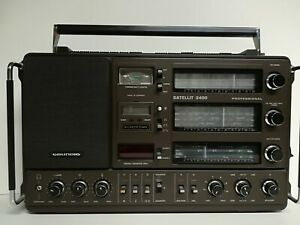 GRUNDIG - SATELLIT 3400 PROFESSIONAL - RADIO - WELTEMPFÄNGER