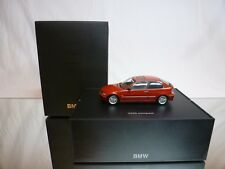 MINICHAMPS BMW 325ti COMPACT E46 - RED METALLIC 1:43 - EXCELLENT IN DEALER BOX