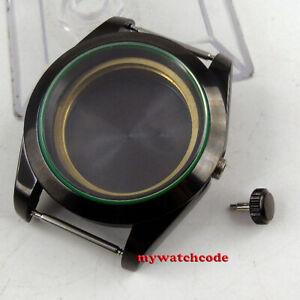 40mm 316L steel sapphire glass automatic PVD Watch Case fit ETA 2824 2836 watch