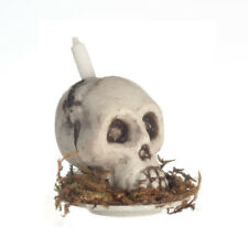 Cráneo vela, casa de muñecas en miniatura, Miniatura cráneo