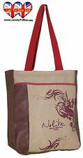 women Shoulder Bag Nolita Shopping Bag Beige Italian Brand,(Clearance Stock)