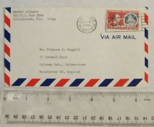 1963 envelope with USA 1st International Postal Conference 100th Anniversary sta