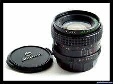 MAKINON AUTO 24mm f/2, 8 Contax/Yashica Mount SN:782988 con filtri inclusi.
