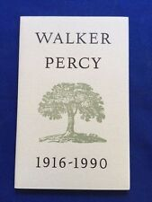 WALKER PERCY. 1916-1990 - TRIBUTE TO WALKER PERCY - NOTE ISSUED FOR RESALE