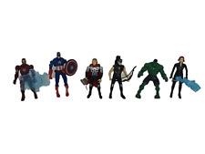 Avengers Figurine Set cake topper Hulk Ironman Black widow Thor