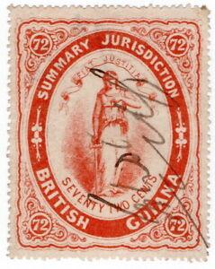 (I.B) British Guiana Revenue : Summary Jurisdiction 72c (1865)