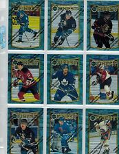1994/1995 94/95 TOPPS FINEST HOCKEY COMPLETE 165 CARD  SET 17/18 SALE