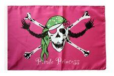 Pirat Pirate Princess Prinzessin Banner Piraten Fahnen Flaggen 30x45cm