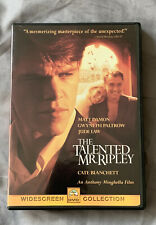 The Talented Mr. Ripley - Damon - Paltrow - Law - Hoffman - Blanchett - Dvd