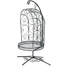 [Dollmore] BJD 1/4 Scale Bird Cage Style Iron Chair only (Black)