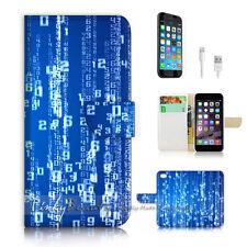 ( For iPhone 7 Plus ) Wallet Case Cover P2393 Matrix