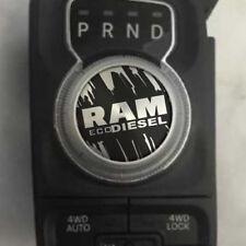 Dodge Ram ECO Diesel RAM Grunge Shift Knob Decal Sticker Graphic Vinyl Drive