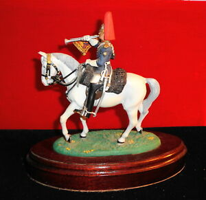 CHAS STADDEN TRUMPETER BLUES & ROYALS MOUNTED REVIEW ORDER, FACTORY PAINTED