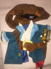"""Disney Duffy 17"""" Bear Plush Pirate Costume Clothes Outfit Parks Exclusive EUC"""