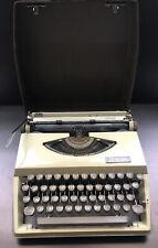 Vintage Royal Caravan Typewriter w/ Case - Works Perfectly!