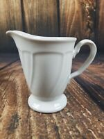Noritake Stoneware Centennial White Creamer 8679 Japan VGUC