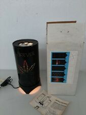 Vintage 1970's Forever High Motion Lamp Visual Effects Marijuana Leaf With Box