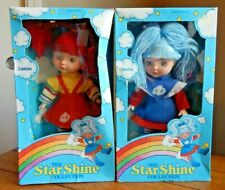 "Vintage Fishel The Star Shine Collection ""Spectra"" & ""Lumina"" Dolls New In Box"