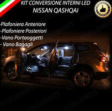 KIT FULL LED INTERNI NISSAN QASHQAI J10 CON TETTO PANORAMICO + VANO PIEDI 6000K