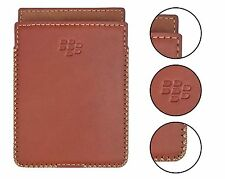 Blackberry Passport & Silver Edition Leather Sleeve Case with Built-in Magnet