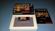 Jeu Super Nintendo SNES The Lost Vikings complet USA