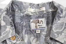 Marc Edwards Rayon Hawaiin short sleeve shirt Mens XL