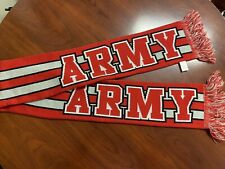 Army Scarf America USA Troops Mule Red and White Striped Forever Collectibles