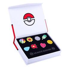 Pokemon Orden / Kanto Region / 8 Pins in Box / Geschenkidee / Geschenk