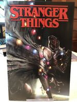 Stranger Things #1 Comic Midtown Mattina variant Cover Netflix New Unread NM