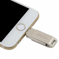 128 Go iDrive Métal U disque flash USB Memory Stick Drive pour iPhone/iPad/iPod