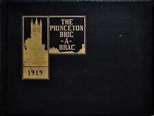 1919 BRIC-A-BRAC Yearbook Princeton University - F. Scott Fitzgerald Senior year