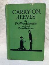 P G Wodehouse - Carry On, Jeeves - Herbert Jenkins - Third Printing 1930s