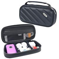 iksnail Waterproof Travel Storage Bag Electronics USB-C Cable Charger Organizer