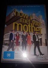 HOW I MET YOUR MOTHER - SEASON  (DVD, 3 DISC, R4) VERY GOOD CONDITION free post