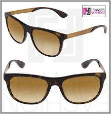 f81031476dc32 PRADA Sport Square Pr04ss Brown Bronze Mirrored Metal Sunglasses 04s Unisex