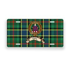 Ogilvy Scottish Clan Hunting Tartan Novelty Auto Plate Tag Family License Plate