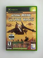 Star Wars: The Clone Wars / Tetris Worlds Combo - Original Xbox Game - Complete