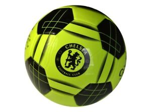 CHELSEA FC SIZE 5 FLUO FOOTBALL 26 Stitched Panel Soccer Ball LFC
