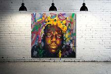 Notorious BIG Biggie Smalls 24 x 24 Canvas Print Hip Hop Poster Mural