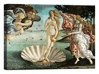 Sandro Botticelli La nascita di Venere Stampa su tela Canvas effetto dipinto