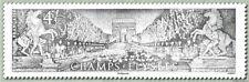 Timbre Champs-Elysées n°5371 issu de bloc - 2019