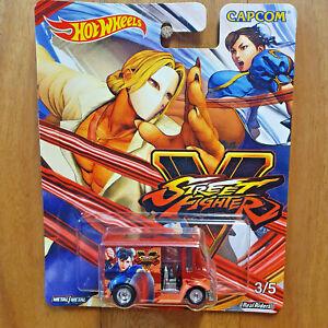 Hot Wheels 2018 Pop Culture STREET FIGHTER V 3/5 BREAD BOX Chun-Li vs Vega *