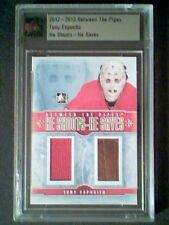 Tony Esposito Chicago Blackhawks Authentic Dual Piece Of Memorabilia /20 Sp