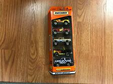 MATCHBOX 5 PACK GIFT SET RUGGED RIDERS MATTEL WHEELS