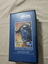 THE GOLEM'S EYE BY JONATHAN STROUD--AUDIO CASSETTE TAPES-LIKE NEW--FREE SHIPPING