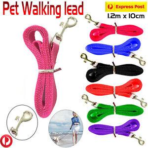 Dog Pet Lead Leash New Strong Nylon Cat Training Collar 1.2m x 10cm For Dog/Cat