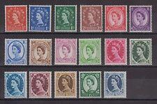 "1952/54 - Gran Bretagna, Elisabetta II° ""Corona Tudor"", gomma integra - 1356"